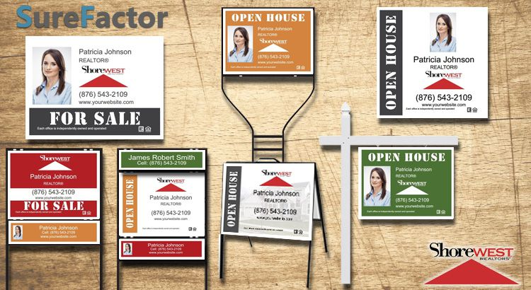 Shorewest Realtors Real Estate Signs