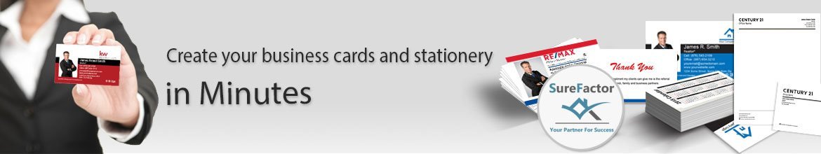 Create Your Real Estate Business Cards and Stationery
